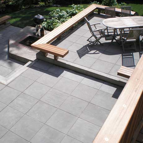 View Ridge Retaining Patio